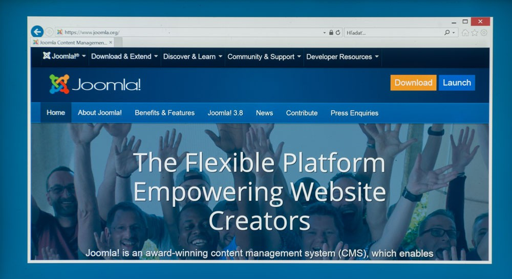 Joomla the flexible platform empowering website creators