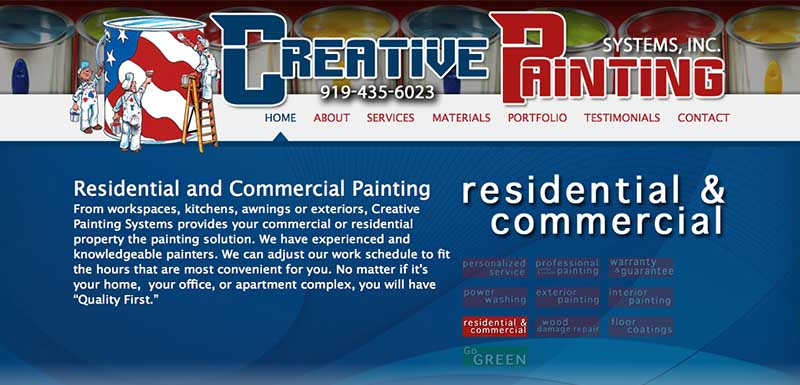 Creative Painting Systems. Inc.