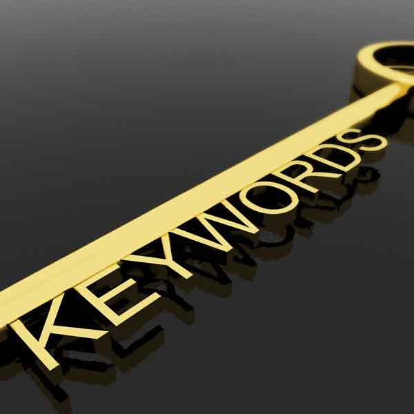 key with keywords